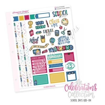 The 2019 Celebrations Collection Add-On: School Days