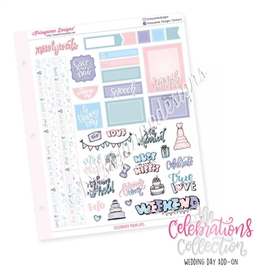The 2019 Celebrations Collection Add-On: Wedding Day