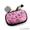 One Sided Zippered Pouch - Doodle Stars