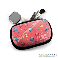 One Sided Zippered Pouch - Happy Steve