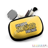 One Sided Zippered Pouch - Sticker For That
