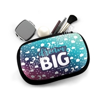 One Sided Zipper Pouch - Dream BIG