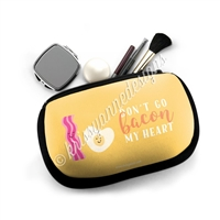 Cosmetic / Device Pouch - Bacon My Heart