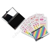Compact Sticker Pack - Rainbow Stripes