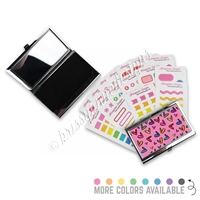 Compact Sticker Pack - Heart Doodles