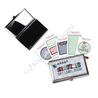 Compact Sticker Pack - Christmas Gift Label Stash