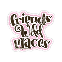 KAD Decal - Friends in Wild Places