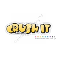 KAD Decal - Crush It