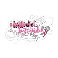 KAD Decal - #KADdict Karaoke Decal