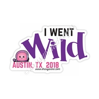 KAD Decal - I Went Wild 2018 Decal