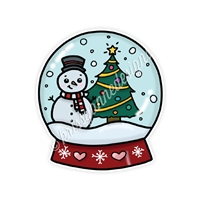 KAD Decal - Christmas Magic Snowglobe