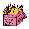KAD Decal - 2020 Holiday Dumpster Fire