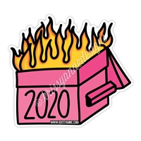 KAD Decal - 2020 Dumpster Fire