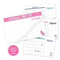 2020 Oversized 13-Month Calendar Desk Pad