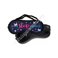 KAD Sleep Mask - Never Stop Dreaming