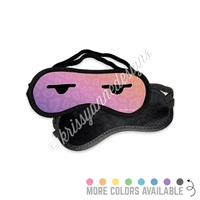 Sleep Mask - Leopard Side Eye