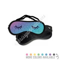 Sleep Mask - Leopard Lashes