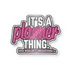 Enamel Flair Pin - Planner Thing