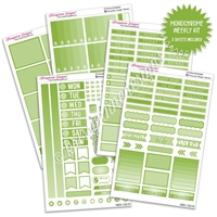 KAD Gemtone Weekly Planner Kit - Green