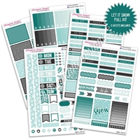 KAD Weekly Planner Kit - Let it Snow