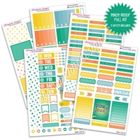 KAD Weekly Planner Kit - Pinch Proof