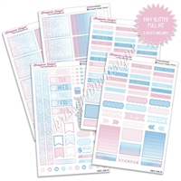 KAD Weekly Planner Kit - May Glitter