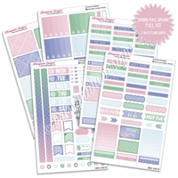KAD Weekly Planner Kit - Spring Has Sprung