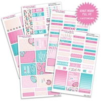 KAD Weekly Planner Kit - Donut Worry