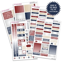 KAD Weekly Planner Kit - Home of the Brave