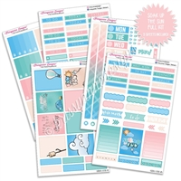 KAD Weekly Planner Kit - Soak up the Sun