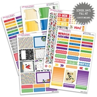 KAD Weekly Planner Kit - School Days