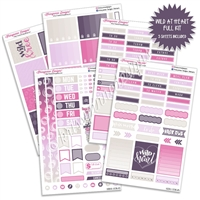 KAD Weekly Planner Kit - Wild at Heart