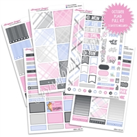 KAD Weekly Planner Kit - October Plaid