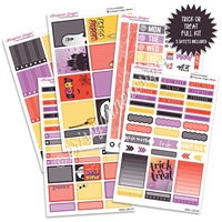 KAD Weekly Planner Kit - Trick or Treat