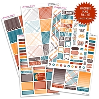 KAD Weekly Planner Kit - November Plaid