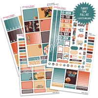 KAD Weekly Planner Kit - Turkey Time