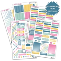 KAD Weekly Planner Kit - December Plaid