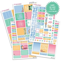 KAD Weekly Planner Kit - Happy Go Lucky