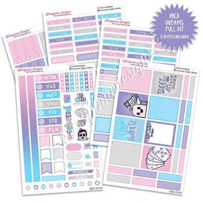 KAD Weekly Planner Kit - Wild Dreams