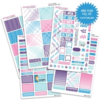 KAD Weekly Planner Kit - April Plaid