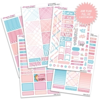 KAD Weekly Planner Kit - June Plaid
