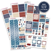 KAD Weekly Planner Kit - Grand Old Flag