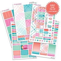 KAD Weekly Planner Kit - August Plaid