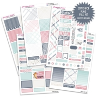 KAD Weekly Planner Kit - September Plaid