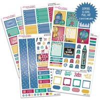 KAD Weekly Planner Kit - School is Cool