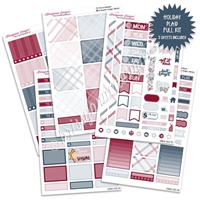 KAD Weekly Planner Kit - Holiday Plaid
