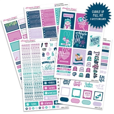 KAD Weekly Planner Kit - Cuddle Up