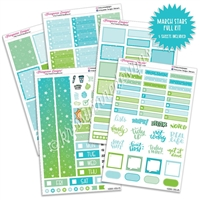 KAD Weekly Planner Kit - March Stars