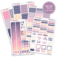 KAD Weekly Planner Kit - April Stars