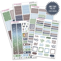 KAD Weekly Planner Kit - June Stars